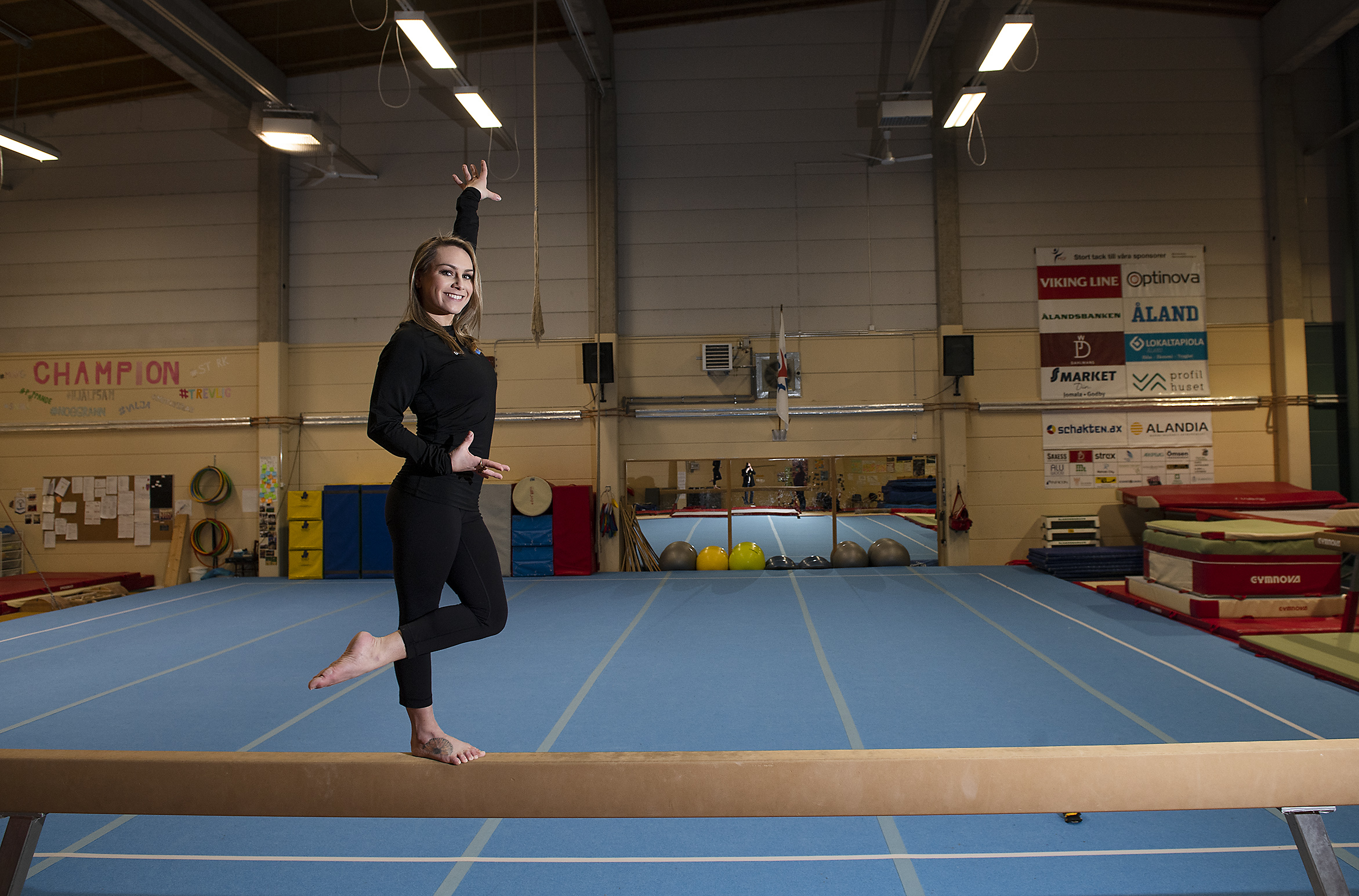 Savannah Borman, gymnastik